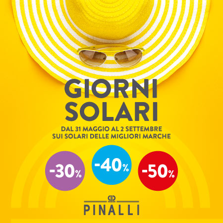 I MIGLIORI SOLARI scontati fino al 50%
